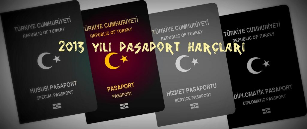2013 Yılı Pasaport Harçları