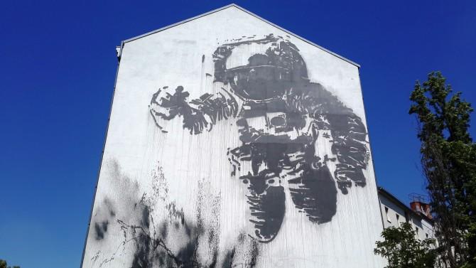 Berlin'de sokak sanatı