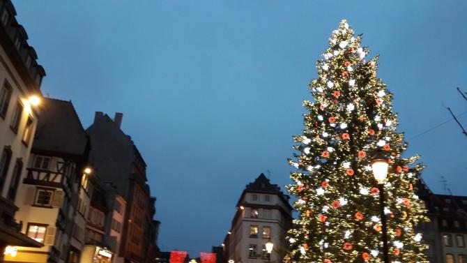 Avrupa'da yılbaşı pazarları | Strasbourg